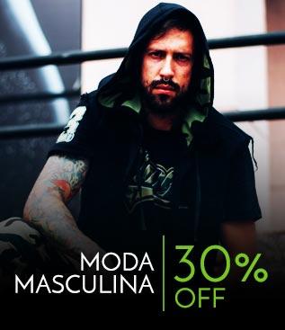 Moda masculina 30% off